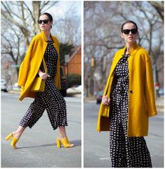 #Street fashion #street style  #Sunflower #yellow - Veronica P   LOOKBOOK