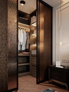 Trendy walk in closet design luxury glass doors Wardrobe Room, Wardrobe Design Bedroom, Closet Bedroom, Wardrobe Door Designs, Closet Designs, Home Room Design, Home Interior Design, Closets Pequenos, Clothes Cabinet