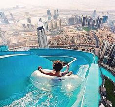 Awesome waterslide, extreme waterslide