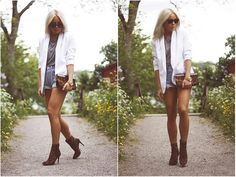 White blazer love!