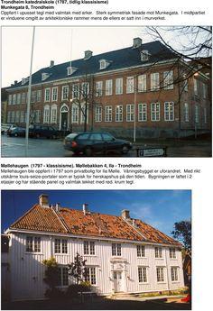 Bilderesultat for norsk nyklassisisme Trondheim, Mansions, House Styles, Home Decor, Mansion Houses, Homemade Home Decor, Manor Houses, Fancy Houses, Decoration Home