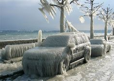 12 Fascinating Images of Extreme Cold Weather Conditions - winter, freeze, polar vortex, cold, storm - Oddee Severe Weather, Extreme Weather, Weather Conditions, Weather Warnings, Weather Wallpaper, Grandes Photos, Winter Schnee, Vevey, Ice Storm
