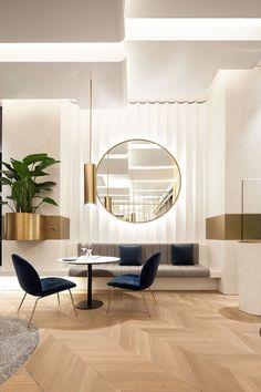 Fluted wall | Modern Glam #artdecostyle #glamorous #moderninteriordesigncafe