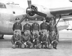 B-24 Pilot William Kalan and Crew, England 1943
