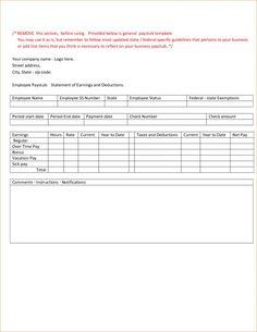 check stub template free pay stub template free blank usa pay stub