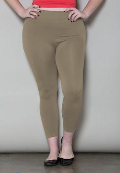 04b2d2213e9 Seamless Leggings. Beige Leggings · Plus Size Leggings ...