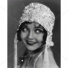 1920s Flapper Counted Cross Stitch Pattern
