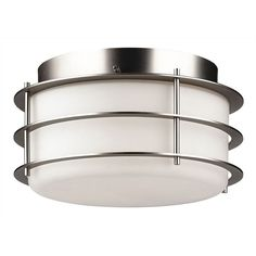 Philips Forecast Lighting Hollywood Hills 2 Light Outdoor Flush Mount | AllModern