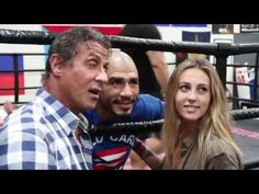 Watch Sylvester Stallone visit Miguel Cotto at his training camp - | Boxing News - boxing news, results, rankings, schedules since 1909