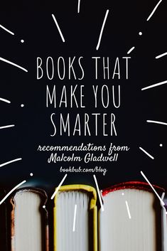 Check out this list of nonfiction books that make you smarter. #bookfans #nonfiction #readinglist