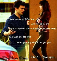 Fifty Shades darker - I Love You