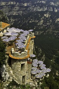 Cliffside Cafe, Gourdon France