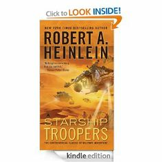 Photo PDF Starship Troopers by Robert A. Heinlein by Robert A. Best Sci Fi Books, Best Books To Read, Good Books, Starship Troopers Book, Reading Lists, Book Lists, Anthony Doerr, York, Bestselling Author