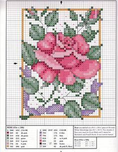 Shema za vez koja prikazuje ružu, centrirana na {-2,-1 1/2} (po visini; po širini) u odnosu na sredinu 10/1 rastera. ---- Savjet: Obzirom da raster online ovisi o rezoluciji, a da se izbjegne zabuna, za izradu sheme treba koristiti milimetarski papir i zatim ju fotografirati i uploadati fotografiju. Ili navesti legendu odnosa (kao na zemljopisnim kartama).