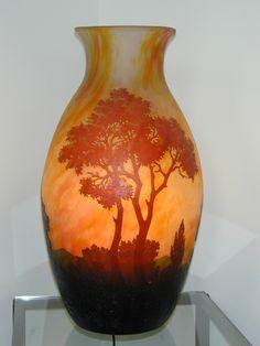 tiny esveld, tinyesveld.com, daum nancy, glass, vases, lamps, gallery, tiny, esveld, art nouveau, french, emile galle, art deco, pate, de verre, cameo, glass, jugendstil, verrerie, vetri