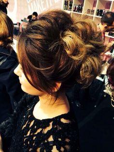 Hair up @REDKENSYMPOSIUM 2014 #inspired #redken #professional