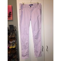 Tinsel - Lavender Skinny Jeans - Stretch! Pastel lavender skinny jeans with stretch.  Perfect wear to start off spring.  Perfect condition! Tinsel Jeans Skinny