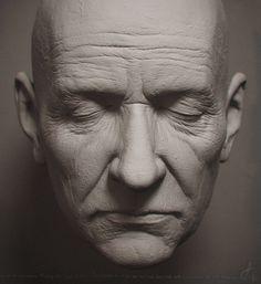 Toughts -Clay Render-, Adan Vazquez on ArtStation at https://www.artstation.com/artwork/toughts-clay-render