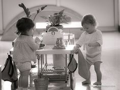 Infant Montessori - Practical Life : only in a Montessori classroom