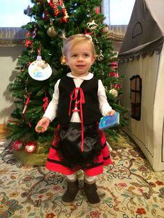 Disfraz de pastorcilla Navidad