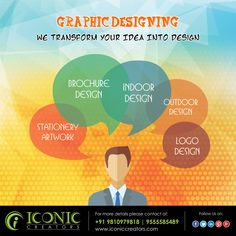 Good Design is good Busines. We offers the best graphic design services that leads to good businesses. We develop vector art, icons, logos, brochures, catalogues, banners, hoardings, flyers, Handout, stationery artwork, and many more.