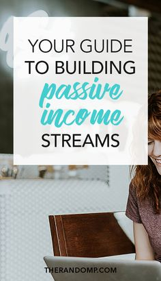 Create online passive income streams and get money while you sleep! In this guide to building passive income streams I've covered getting started with affiliate marketing, affiliate network suggestions, great affiliate programs to join, how to start an online course, where to build your course, how to create an e-product and where to sell online products. All of that and much more in Passive Income Simplified: www.therandomp.com/passive-income-simplified