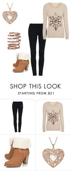 """""""Untitled #672"""" by crystalrose-014 ❤ liked on Polyvore featuring George, UGG Australia and Plukka"""