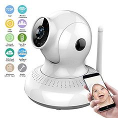Wireless IP Camera HD 720P WiFi Security Camera Home…