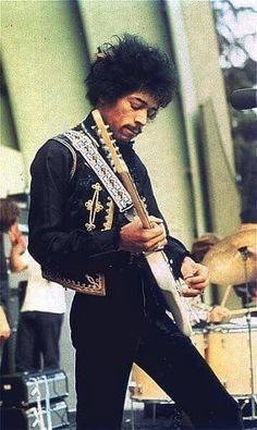 Jimi on the job.