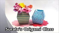 origami jardin de tulipanes - YouTube