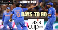 #AsiaCup #TeamIndia #INDvsPAK #Mirpur #cricket Cricket Trolls  Mark your date now !!!  http://www.crickettrolls.com/2016/02/20/asia-cup-2016-india-vs-pakistan-27th-february/