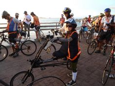 Audax 2011 200km Rio das Ostras.Leonora Candida, primeira mulher reclineira a completar uma prova de Audax no Brasil.Com uma EXD 20x20 em 13h08