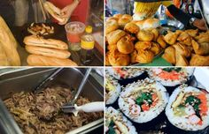 Great street foods around the world - Gisun Jung / EyeEm/Getty Images, SAUL LOEB/AFP/Getty Images,ARKO DATTA/Newscom/Reuters,Jupiterimages...