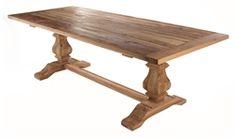Nadine French Provincial Dining Table - Matt Blatt