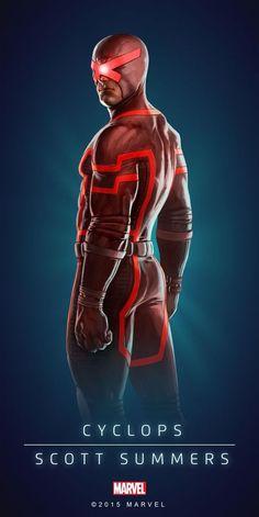 Marvel X-Men Cyclops Scott Summers Marvel Comics, Marvel Comic Universe, Comics Universe, Marvel Heroes, Marvel Comic Character, Marvel Characters, X Men 1, Mundo Marvel, Marvel Cards