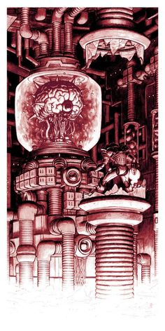 Nick Derington – Boss Fight – The Brain Samus vs. Mother Brain Nick Derington – Boss Fight – The Brain Samus vs. Metroid Samus, Samus Aran, Metroid Prime, Video Game Posters, Video Game Characters, Video Game Art, Video Games, Blade Runner, Star Citizen