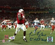 Tommie Frazier Autographed Nebraska 8x10 Color Photo 2x Nat'l Champs PSA/DNA . $29.00. This is an 8x10 Photo that has been hand signed by Tommie Frazier. The autograph has been certified authentic by PSA/DNA and comes with their sticker and matching certificate.