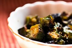 Okra and cumin come together is this simple to make recipe