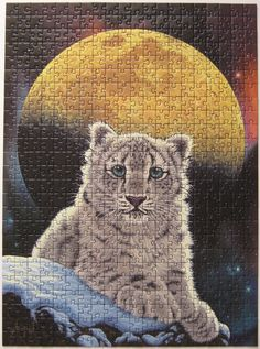 All sizes | Moon Leopard by Schim Schimmel for Ravensburger | Flickr - Photo Sharing! completed by Leonisha