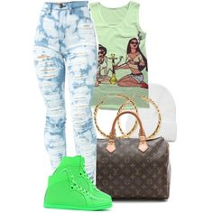 "without all the holes in the jeans ""#23"" by essencesimone on Polyvore"