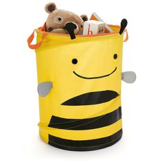 ZOO POP UP STORAGE HAMPER