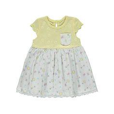 Floral Broderie Detail Dress   Baby   George at ASDA