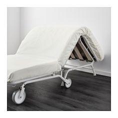 IKEA - IKEA PS LÖVÅS, Sillón cama, , , Debido a sus ruedas, es fácil desplazar el sofá para limpiar o cambiar los muebles de sitio.Gracias a nuestro surtido de fundas, podrás cambiar fácilmente la decoración de la habitación.Este sofá se transforma rápida y fácilmente en una amplia cama. Para ello solo tienes que desplegar el asiento y, al mismo tiempo, doblar el respaldo hacia abajo. Ikea Ps, Sofa Cama Ikea, Folding Sofa, Decoration, Sweet Home, New Homes, Dining Room, Air Bnb, Beach House