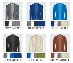 Gq Mens Style, Mens Style Guide, Men Style Tips, Blazer Outfits Men, Blazer Fashion, Suit Fashion, Colour Combinations Fashion, Color Combinations For Clothes, Color Matching Clothes