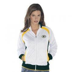 G-III Sports Misses Green Bay Packers Gold Medal Track Jacket - Mills Fleet Farm
