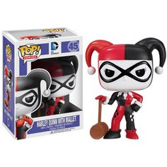 Details about Funko POP! Heroes DC Comics Harley Quinn with Mallet Vinyl Action…