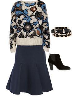Cómo animarse a llevar falda midi http://www.marie-claire.es/moda/look/articulo/como-animarse-a-llevar-falda-midi-281379583472