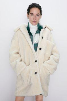 Beige Mode Carreau Manteau Homme d'Hiver Longue en Laine Chaud Col Revers Nouveauté Vêtement Casual Amincissant Automne 46 52