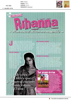 Rihanna dans You Star du 1er Mai 2015 (2)