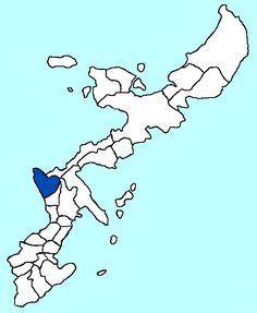 File:Yomitan in Okinawa Map.gif